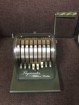 Paymaster Ribbon Writer for Sale in Davenport, IA