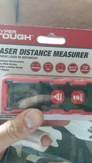 Hyper tough laser distance for Sale in St. Louis, MO