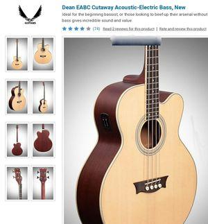Acoustic Bass Guitar-DEAN for Sale in Mountlake Terrace, WA