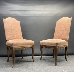 Italian Carved Chairs (Pair) for Sale in San Francisco, CA