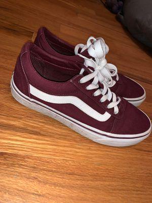 Vans Old Skool Maroon size 8 women's for Sale in St. Louis, MO