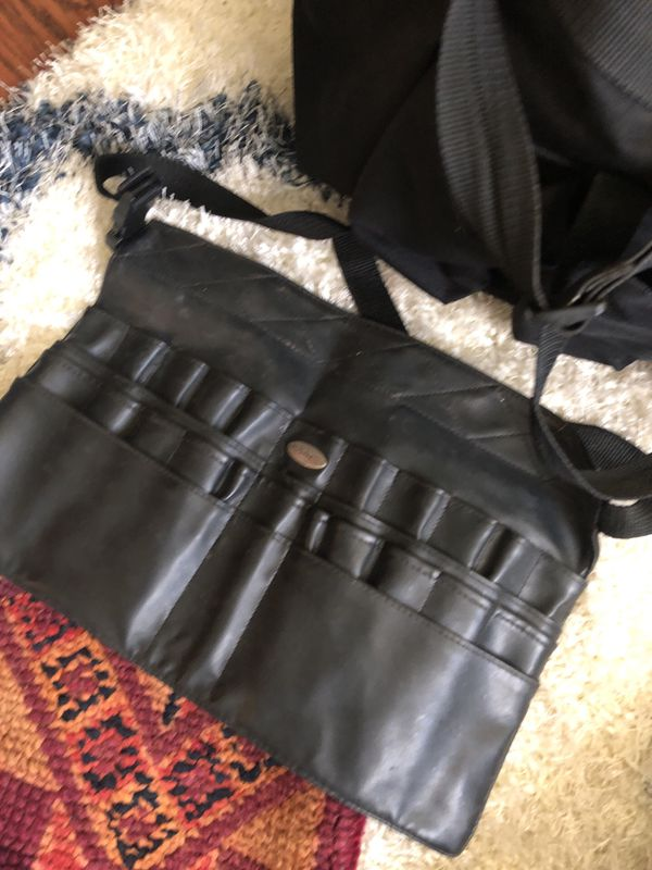 Set Makeup brush apron and bag