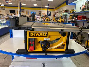Dewalt table saw dwe7491 for Sale in Orlando, FL