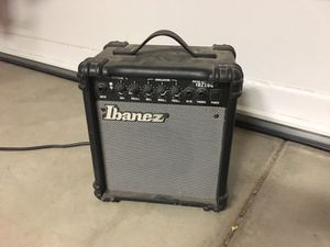 Ibanez IBZ10G 10 watt practice guitar amp for Sale in Menifee, CA