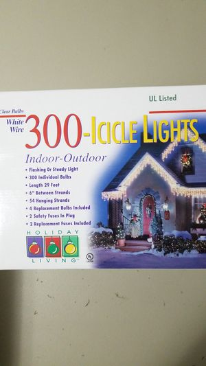 ICICLE LIGHTS for Sale in Waverly, WV