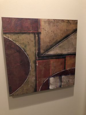 Updated: Painting by Tanya Fisher/Michael Warnica from World Market for Sale in Chicago, IL