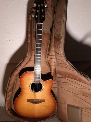 """Ovation """"the bowl"""" acoustic/electric guitar for Sale in Long Beach, CA"""
