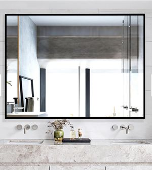 Modern/Simple Oversized Bathroom Hanging/Wall Mounted Mirror by Neu-Type for Sale in Fort Worth, TX