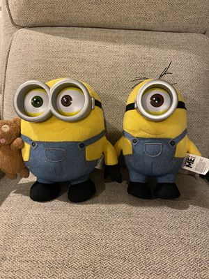 "2 Minions 10"" for Sale in West Sacramento, CA"
