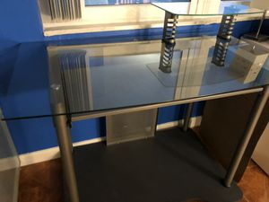 Glass desk for Sale in HALNDLE BCH, FL