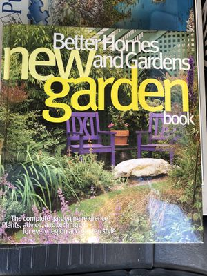 "Hardcover Edition - Better Homes & Gardens ""New Garden Book"" - Sealed for Sale in Bentonville, AR"