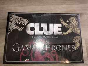 NEW Clue Board Game the Game of Thrones USAopoly Hasbro New in Package for Sale in Las Vegas, NV