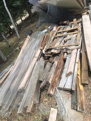 Wood and plastic panels from greenhouse available for free. Not new but great for raised beds or some other DIY project. Going to the landfill if no for Sale in Bailey, CO