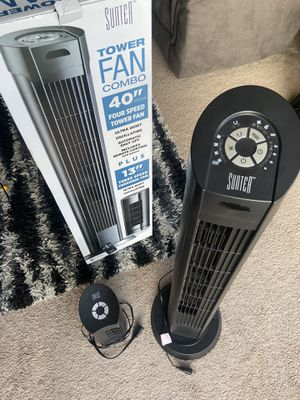 Sunter Tower Fan Combo 40 inch and 13 inch for Sale in North Oaks, MN