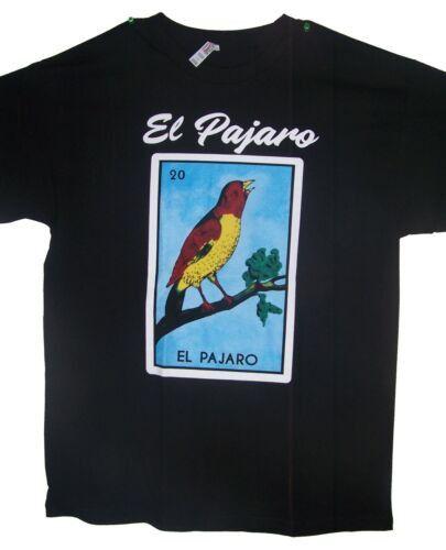 EL Pajaro Loteria T-Shirts Lottery T-Shirts Mexican T-Shirts ( MxTs307 Z )