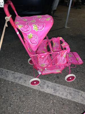 Kids double stroller new $20 each for Sale in San Bernardino, CA