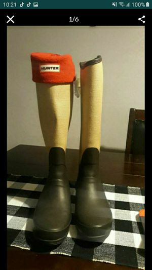 Hunter rain boots for Sale in Houston, TX