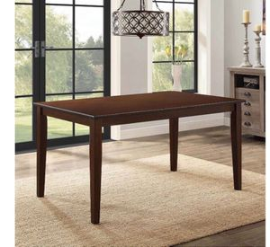 Better Homes and Gardens Bankston Dining Table expresso color A2-0040 for Sale in St. Louis, MO