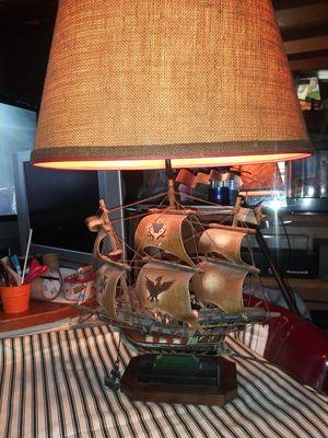 Vintage Mayflower ship replica lamp for Sale in Covina, CA