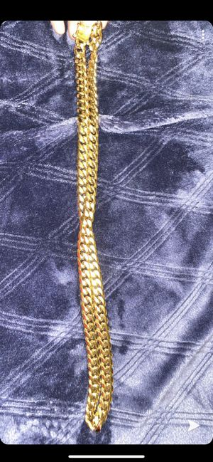 18k gold chain *gold plated for Sale in West Valley City, UT