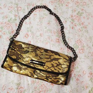 Betsey Johnson clutch w/ removable strap for Sale in Portland, OR