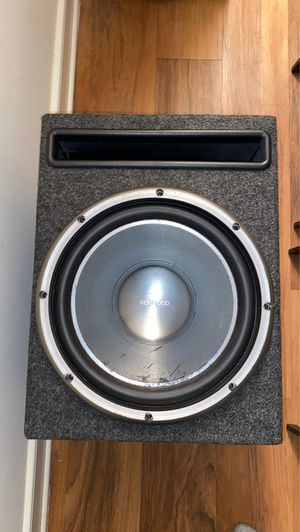"12"" Titanium Kenwood Subwoofer for Sale in Alexandria, VA"