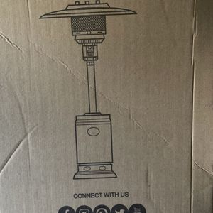 Outdoor Patio Heater 46k Btu NEW - Fire Sence 46,000btu Restaurant Outdoor Eating for Sale in Fairfax, VA