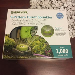 Quality garden lawn sprinkler for Sale in Puyallup, WA