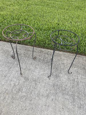 Plant stand -$8 each for Sale in St. Petersburg, FL