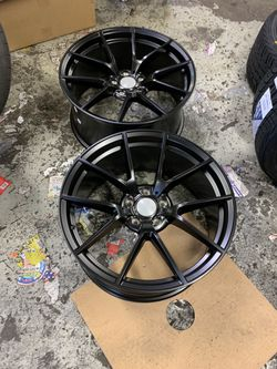 """Bmw 19"""" New Blk M 4 Style Rims Tires Set for Sale in Hayward,  CA"""