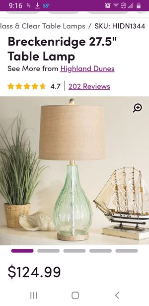 Brand new lamp for Sale in WARRENSVL HTS, OH