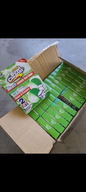 Bowl cleaning tablets for Sale in Rancho Cucamonga, CA