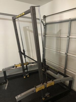 Gold's Gym squat smith machine for Sale in Fort Worth, TX