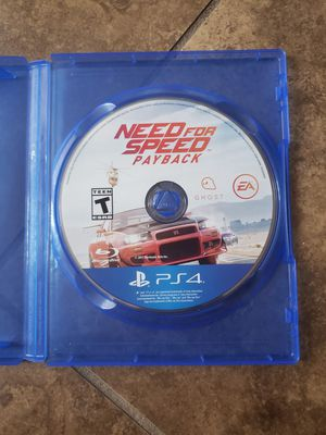 $10 PS4 NeedForSpeed Payback for Sale in Visalia, CA