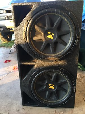 Subwoofers and box for Sale in Meridian, TX