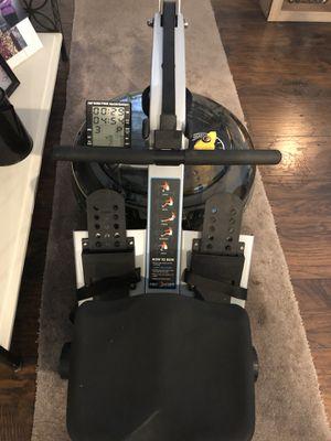 Rowing machine Pacific challenge ar water rower for Sale in Federal Way, WA