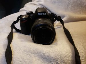 Nikon D D3200 24.2MP Digital SLR Camera - Black (Kit w/ AF-S DX ED VR G 18-55mm Lens & 200mm lens) for Sale in Chicago, IL
