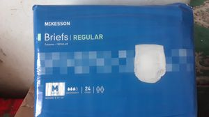 Pampers Mckesson Briefs ,size mediums for Sale in Miami, FL