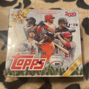Topps 2020 Holiday Mega Box for Sale in Sun City, AZ