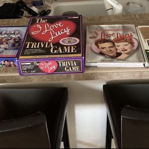 Lot Of I Love Lucy Collector Books And Games ! for Sale in Vancouver, WA
