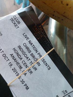 Chris Brown indigo tour for Sale in Anaheim, CA