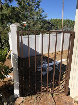 Steel gates, fences custom made for Sale in El Cajon, CA