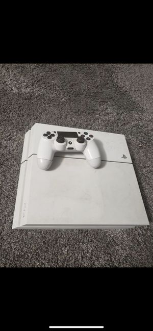 PS4 500gb with 4tb drive ,headsets n 7games and 1 controller. for Sale in Las Vegas, NV