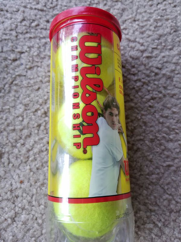 Wilson WRT100101 Championship Hardcourt Tennis Balls, 3-Pk.