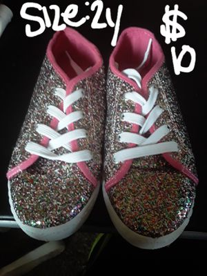 WEDNESDAY SALE....new girls glitter boots size 2y for Sale in Suitland, MD