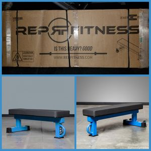 NEW REP Fitness Competition Flat Bench‼🏋️‍♀️ Gym Equipment,Rogue,squat rack,Home Gym,Crossfit,Weights,Barbell⭐ for Sale in Tolleson, AZ