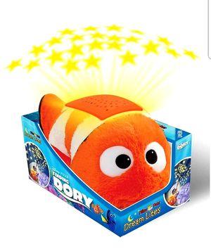 Disney Finding Dory Nemo Dream Lites Stuffed Animal Night Light for Sale in Arlington, TX