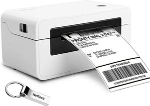 Label Printer, Direct Thermal Desktop Label Printer, High Speed USB Shipping Label Maker for UPS, FedEx, Ebay, Amazon Barcode Printing 4x6 Printer for Sale in Queens, NY