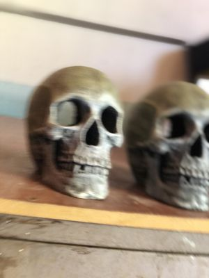 Fish tank decorations Skulls for Sale in Sunrise Manor, NV