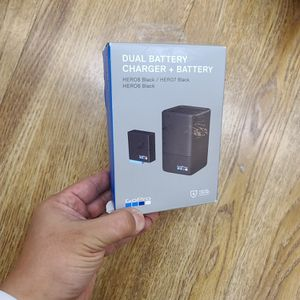 gopro dual battery charger + battery for Sale in Rowland Heights, CA
